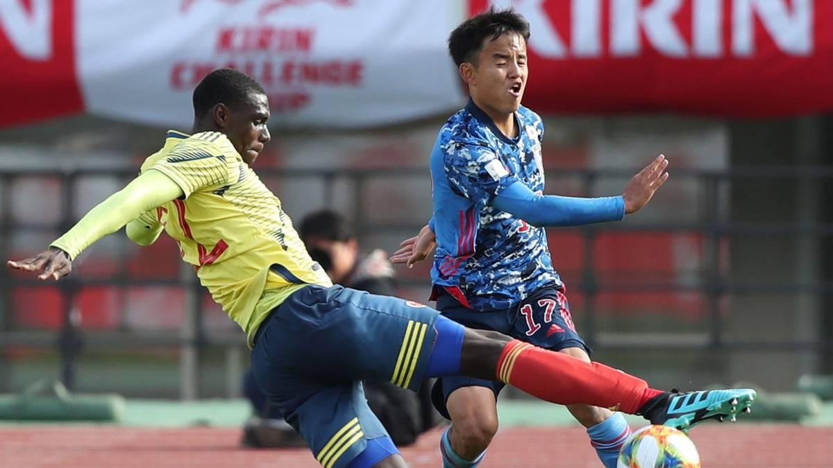 Selección Colombia Sub-23 salió victorioso en juego contra Japón | RCN Radio
