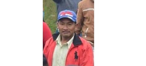 Jesús Mestizo, indígena asesinado en el Cauca