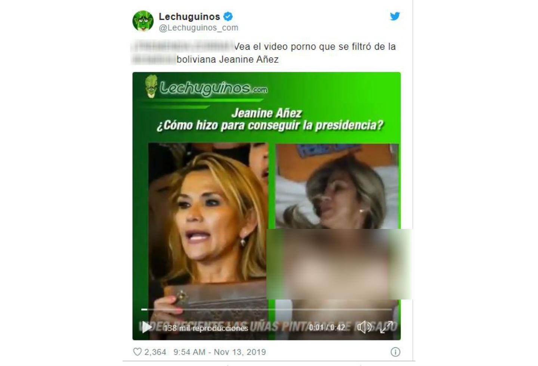 Jeanine Anez Presidenta De Bolivia Se Pronuncia Sobre Video
