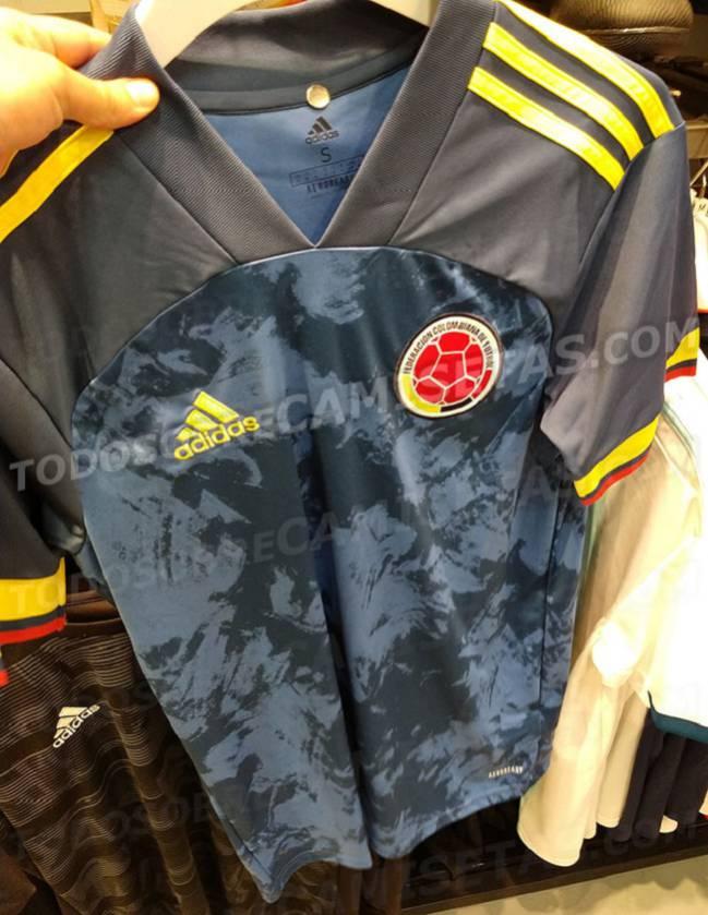 Selección Colombia, camiseta suplente 2020