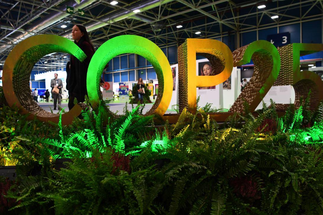 Conferencia sobre el Cambio Climático de la ONU COP25, que se desarrolla en Madrid.