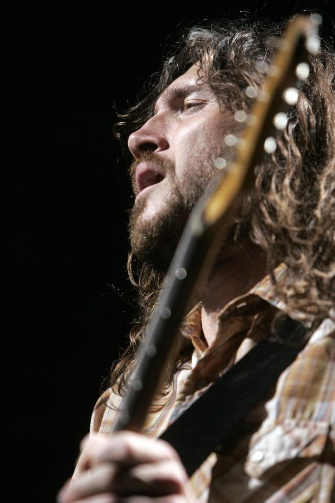 El guitarrista John Frusciante