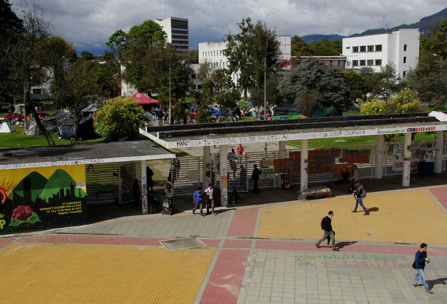 Sede de la Universidad Nacional en Bogotá