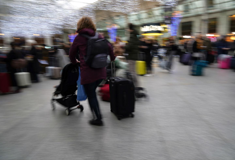 Francia sufre de falta de transporte