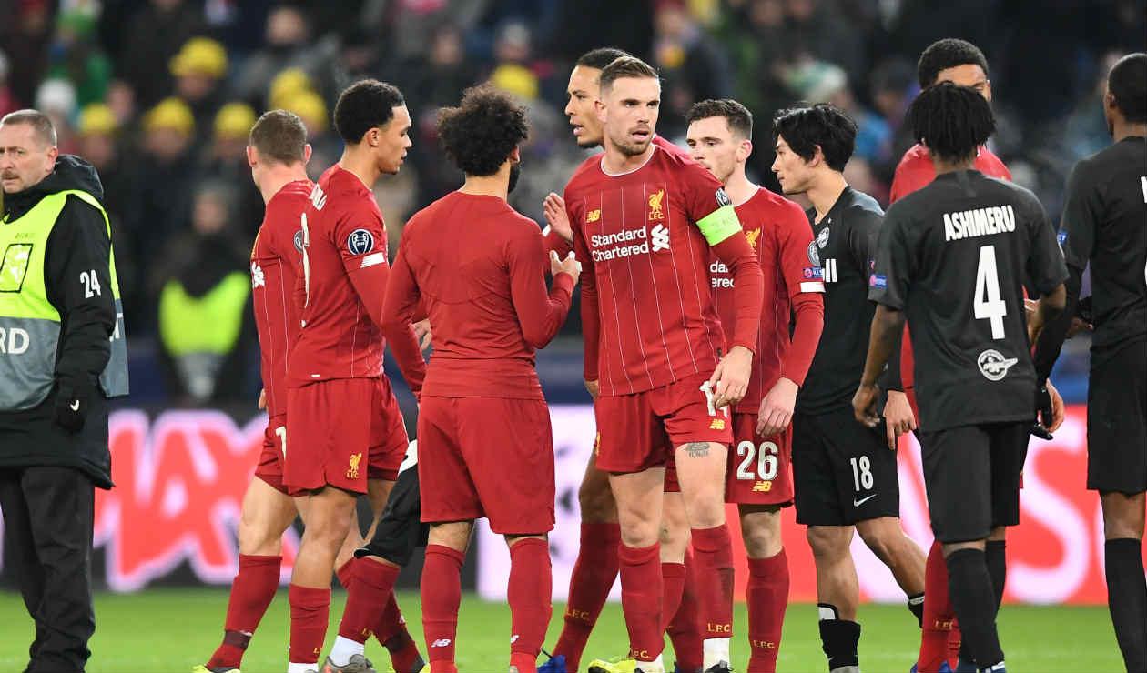 Champions League: Liverpool clasificó a octavos de final | RCN Radio