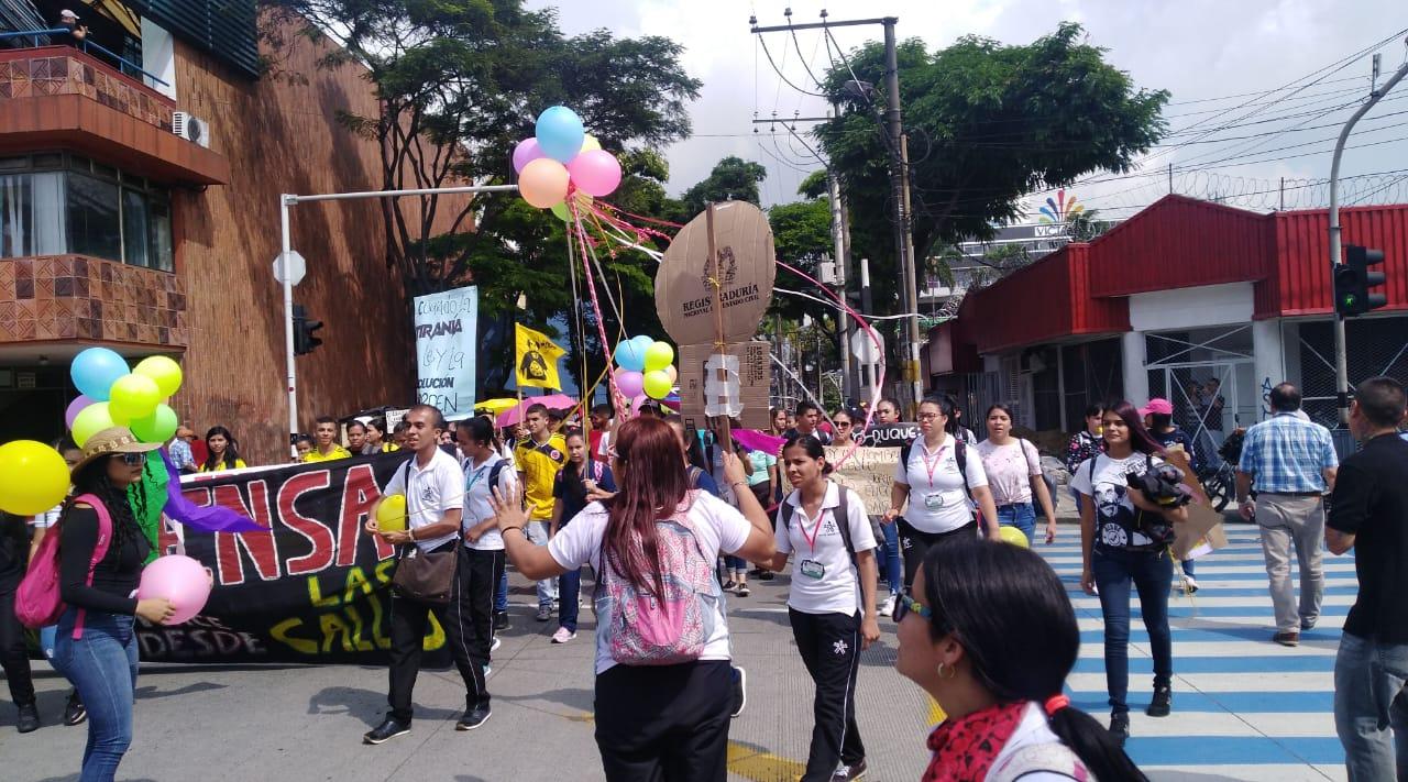 Marchas en Pereira