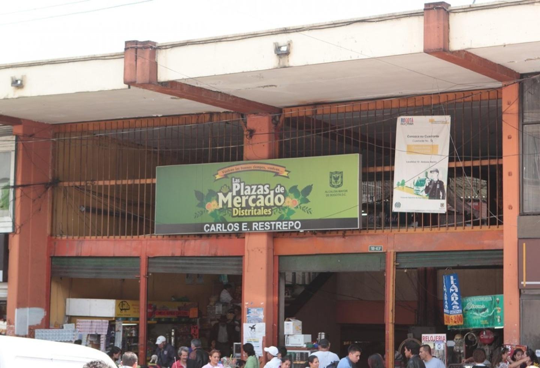 Plaza del barrio Restrepo