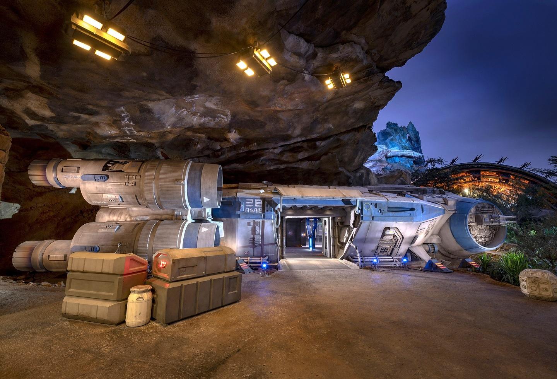 Atracción Star Wars en Disney World