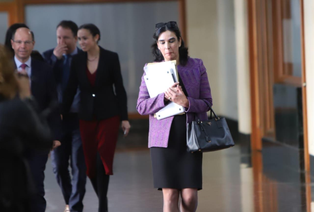 Clara María González, candidata a Fiscal General
