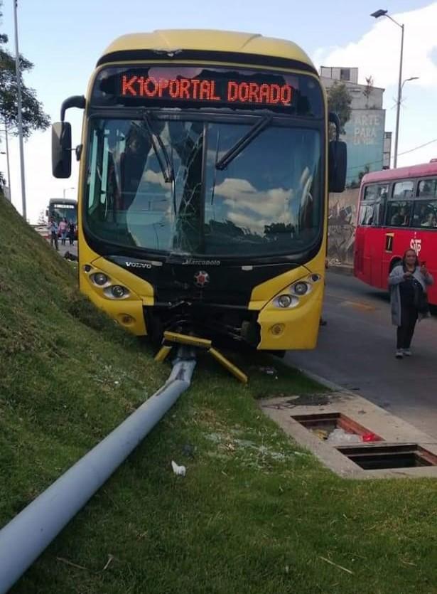 Accidente Transmilenio