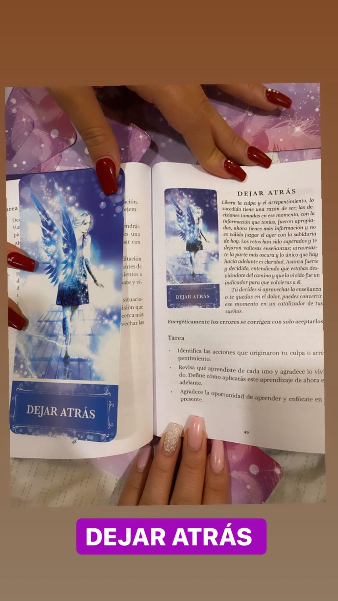 Carta de ángeles de Daniela Legarda