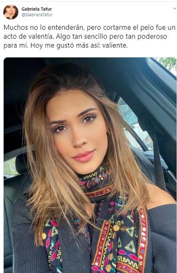 Gabriela Tafur, Twitter