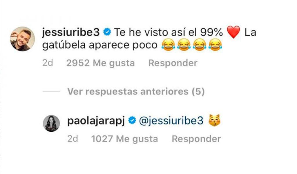 Captura Instagram - Paola Jara