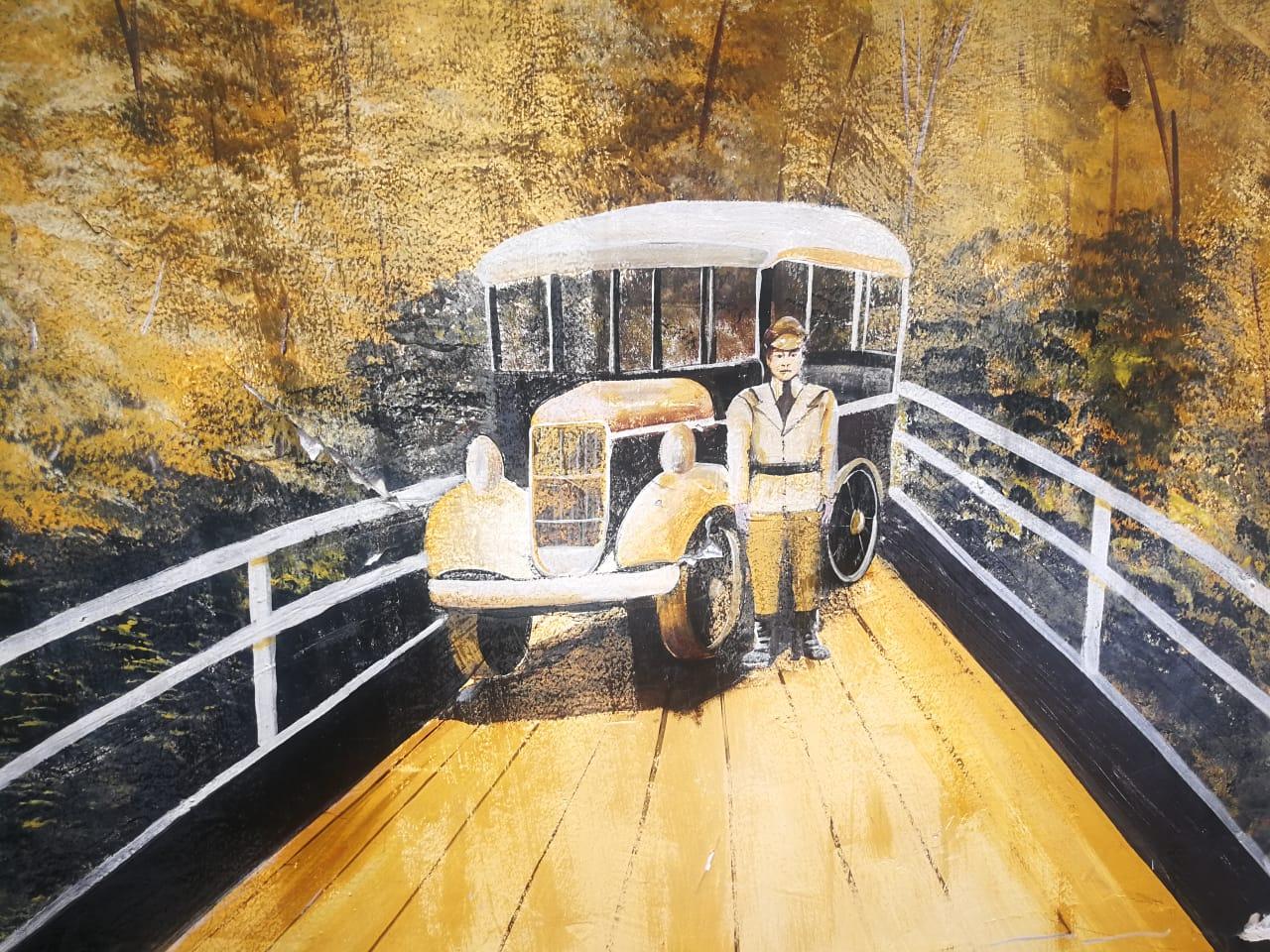 Pintura del Puente de los Suspiros
