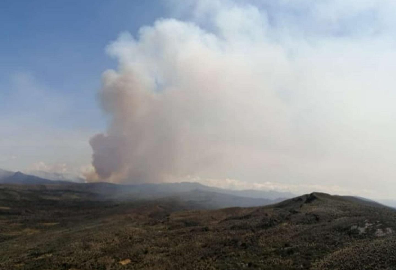 Incendio en Sumapaz