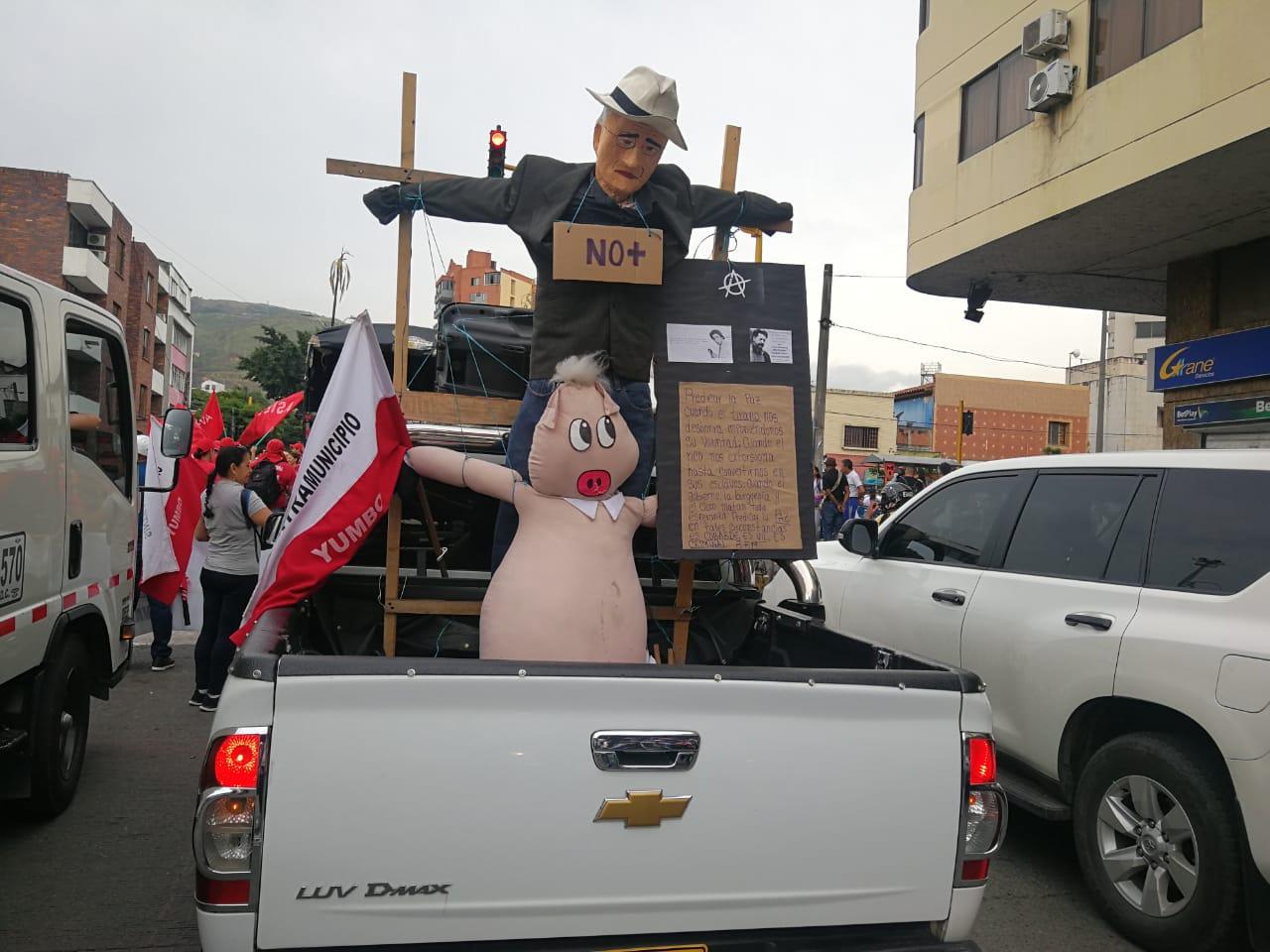 Marchas de Fecode en Cali
