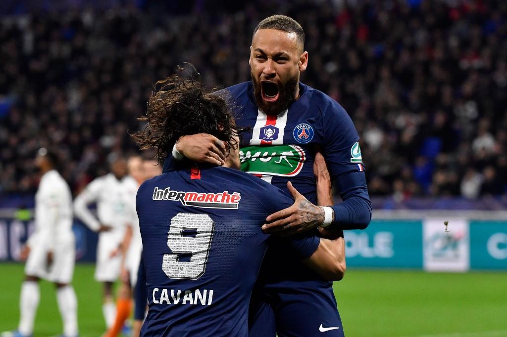 PSG, con doblete de Neymar, goleó al Angers en la liga de Francia   RCN Radio