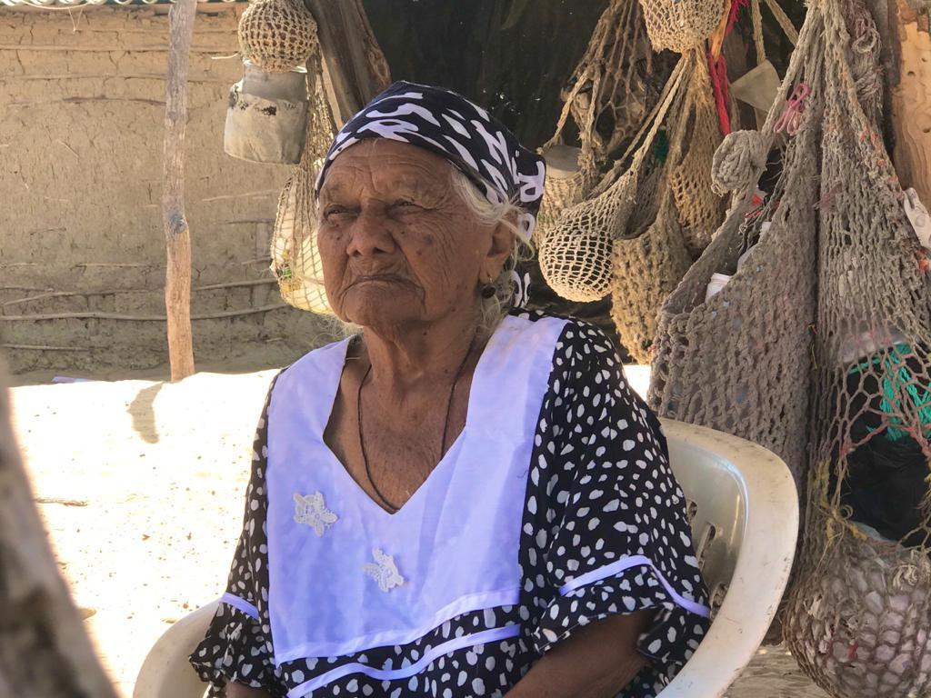 Grecia Deluque, outsu Wayuu