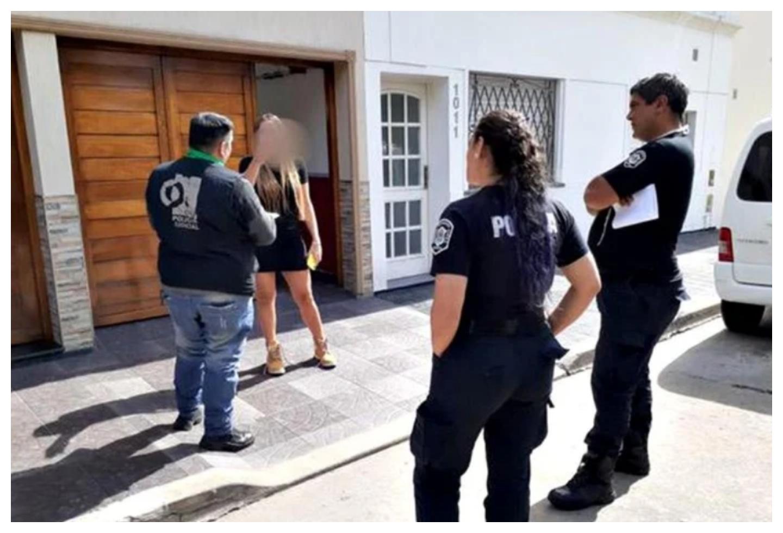 Joven argentina que violó la cuarentena