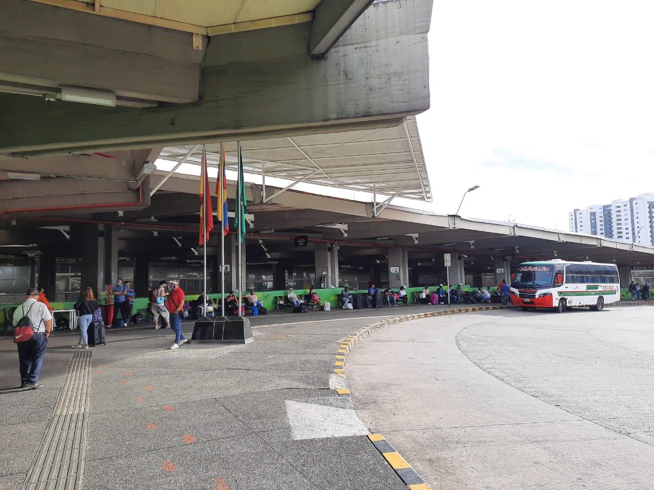 Manifestaciones de transportadores en Pereira.