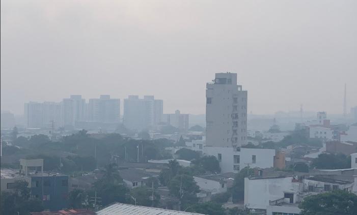 Quemas y humo denso en barranquilla