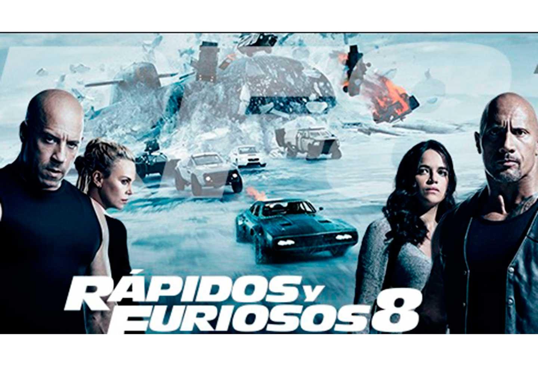 En la octava entrega de Rápidos y Furiosos se acabaron más de 300 autos.