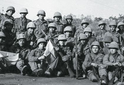 Veteranos de la guerra en Corea