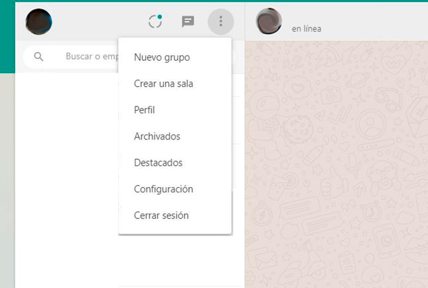 WhatsApp Web y su modo oscuro