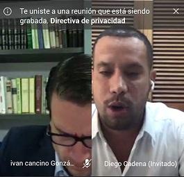 El abogado Diego Cadena no aceptó los cargos que le imputó la Fiscalía