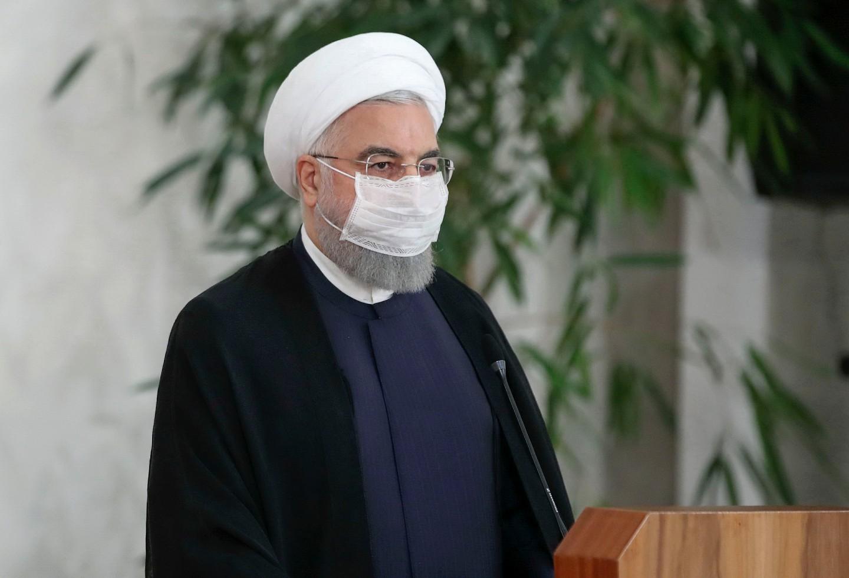 Hasan Rohani, presidente iraní habla sobre los casos de coronavirus en Irán