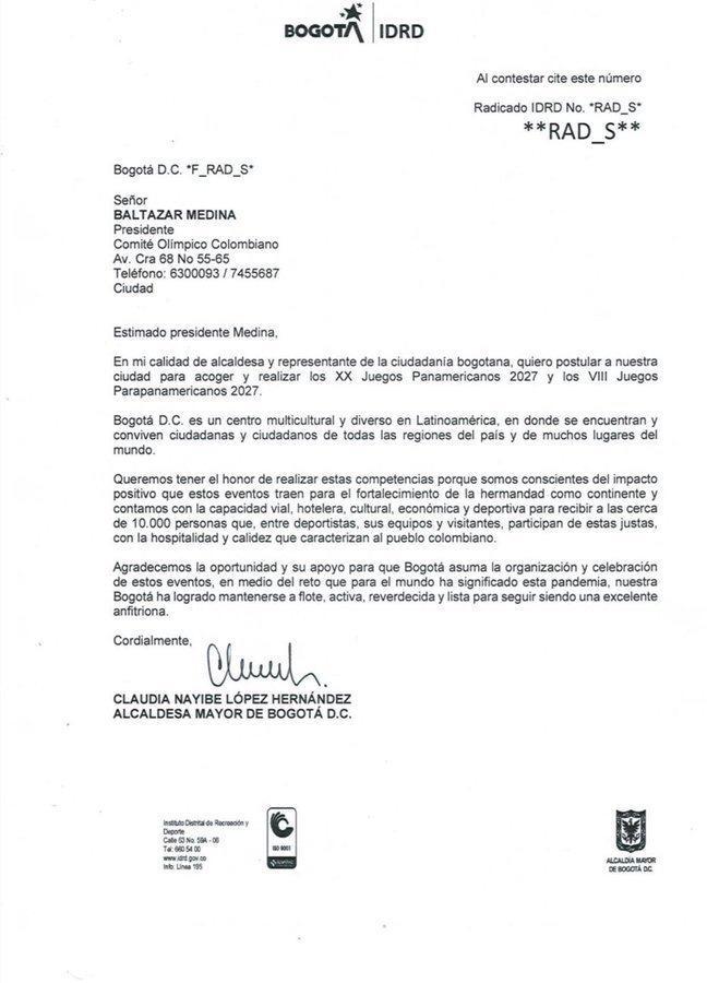 Bogotá - Juegos Panamericanos