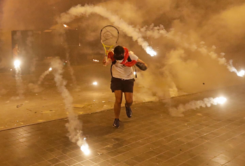 Protestas en Beirut por explosiones