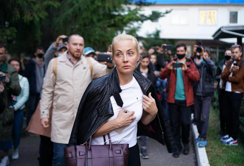esposa de Alexei Navalni, Yulia Navalnaia