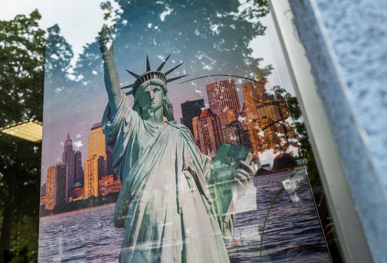 Nueva York / estatua de la libertad