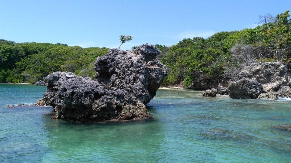 Área protegida en el Caribe colombiano.
