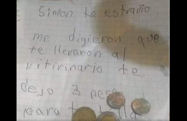 Carta a simón