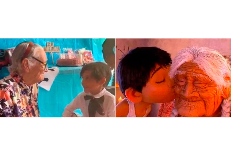 Niño cantó 'Recuérdame' de Coco