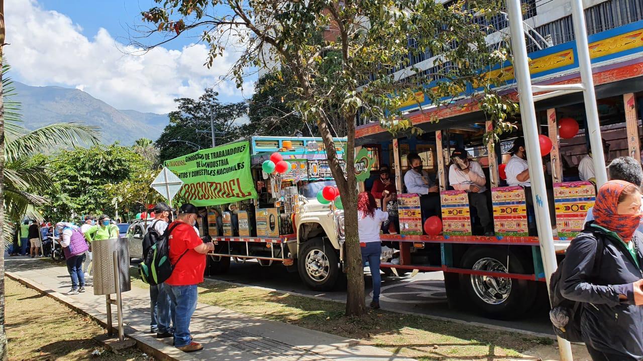 Manifestaciones en Medellín