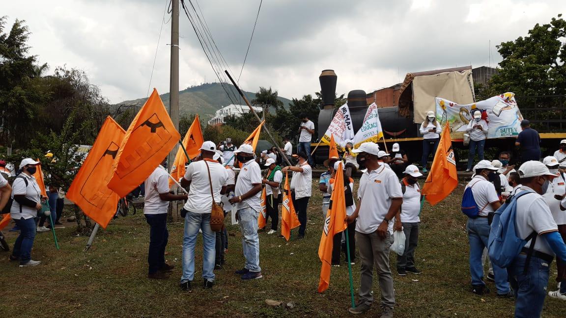 Manifestaciones en Ibagué