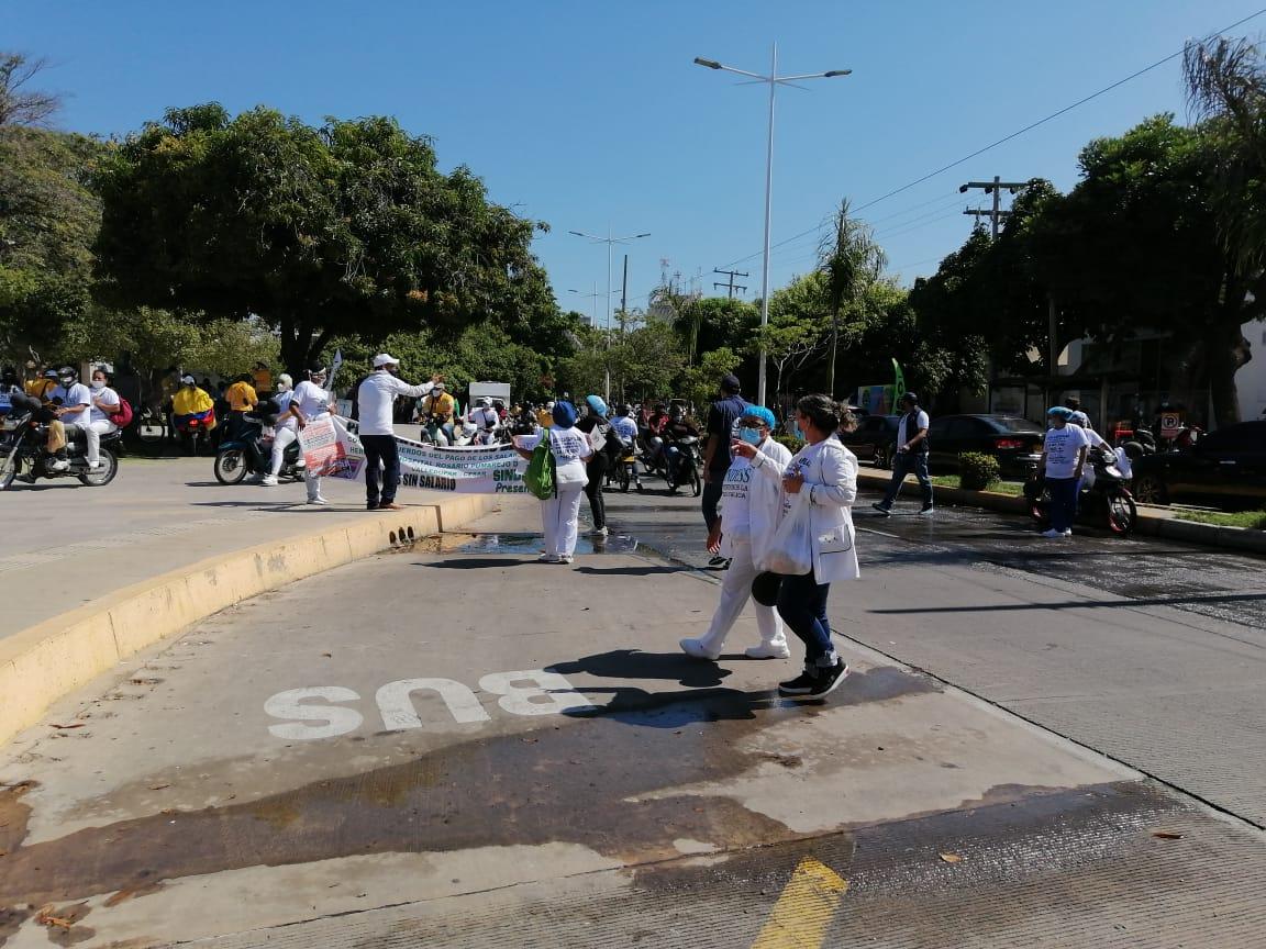 Manifestaciones Valledupar.