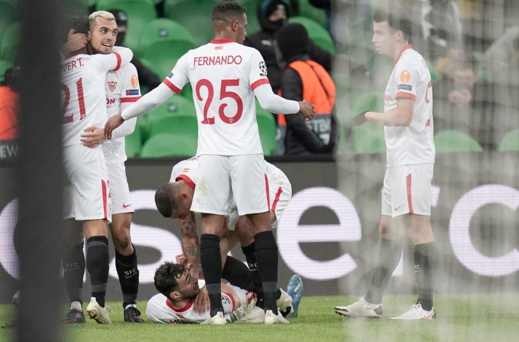 Champions League: Sevilla clasificó a los octavos de final | RCN Radio