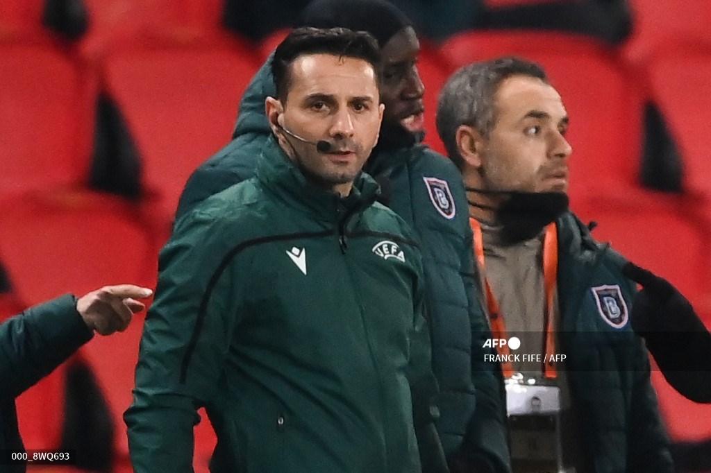 Sebastian Coltescu, árbitro