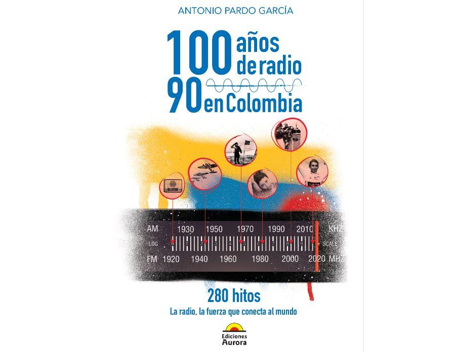 """Libro """"100 años de radio. 90 en Colombia. 280 hitos"""""""