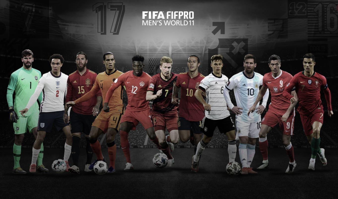 FIFA reveló a su once ideal en el 2020 y generó polémica | RCN Radio