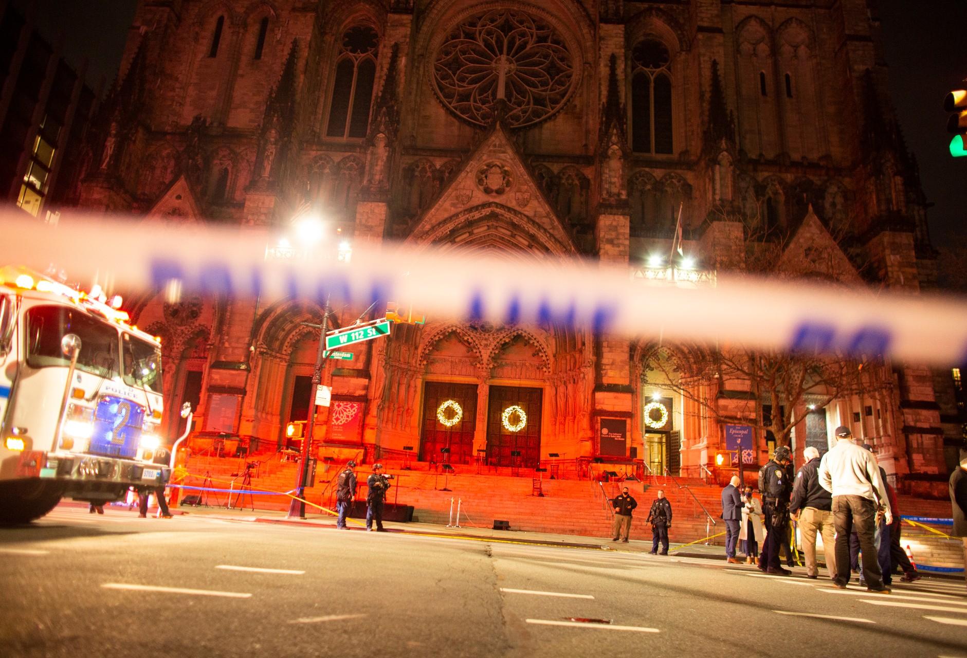 Tiroteo en iglesia de Nueva York