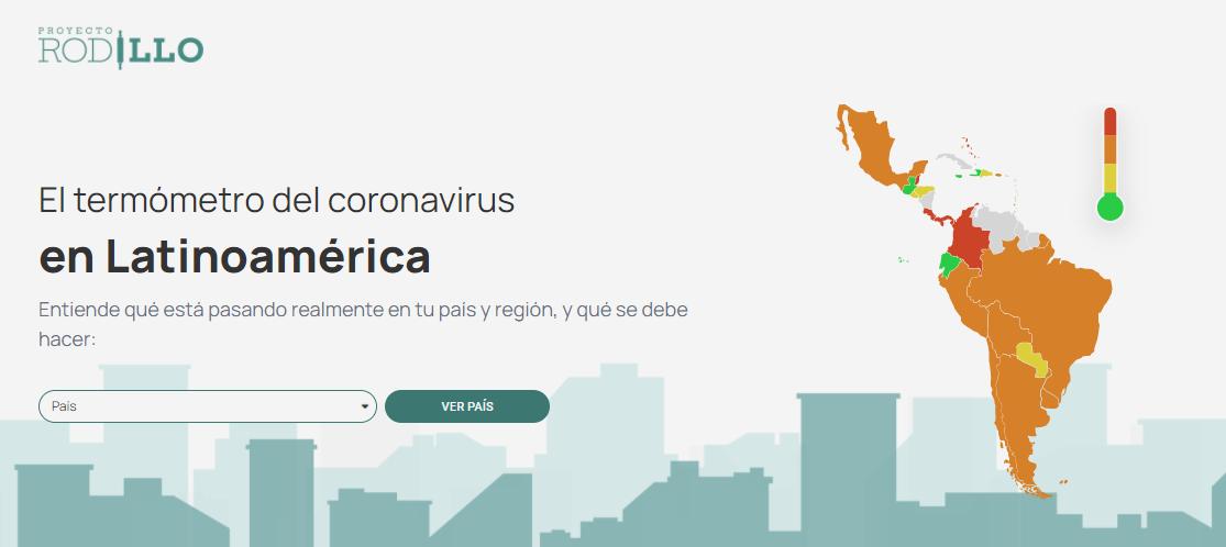 Proyecto Rodillo, plataforma latinoamericana de estadísticas de la pandemia