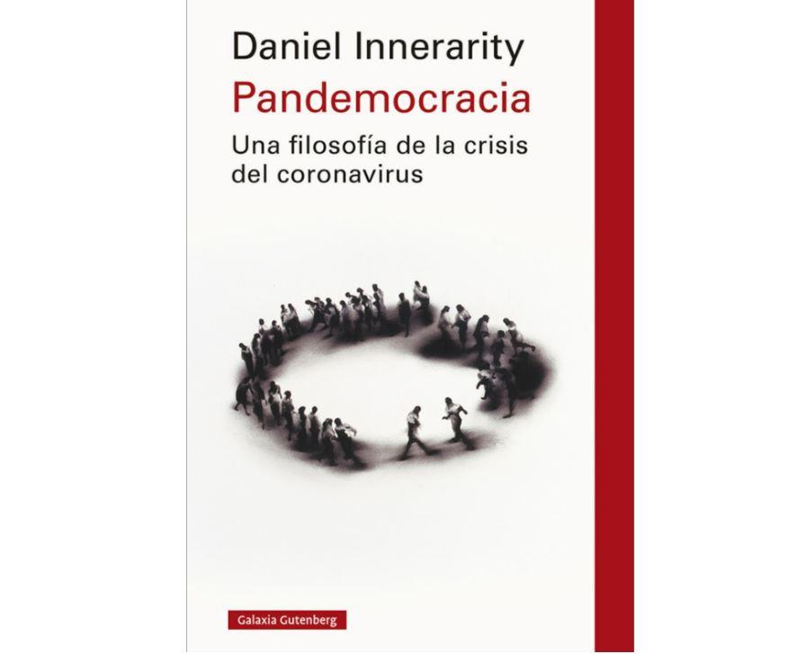 """Libro """"Pandemocracia. Una filosofía de la crisis del coronavirus""""."""