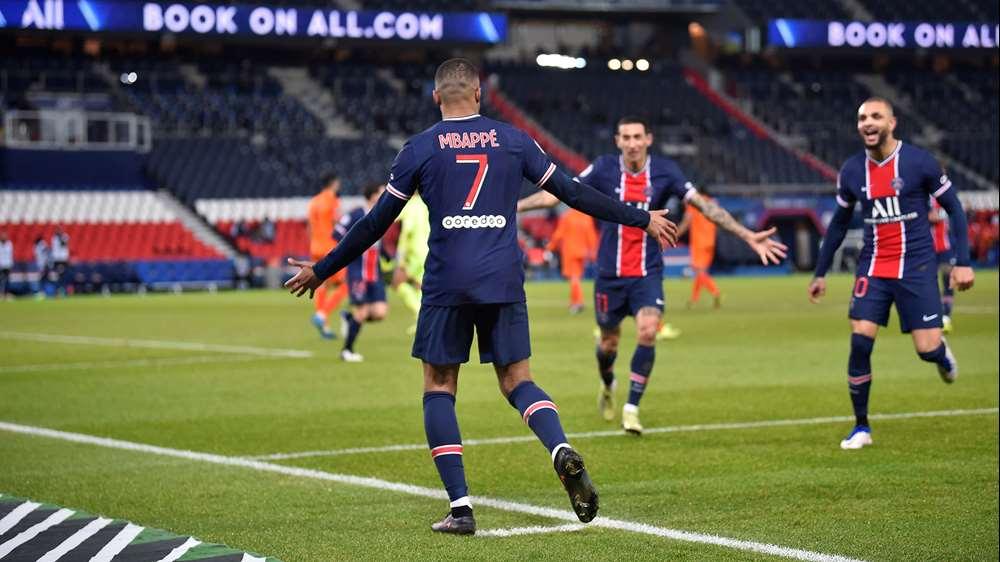 Mbappé, la figura del PSG en la goleada ante el Montepellier   RCN Radio
