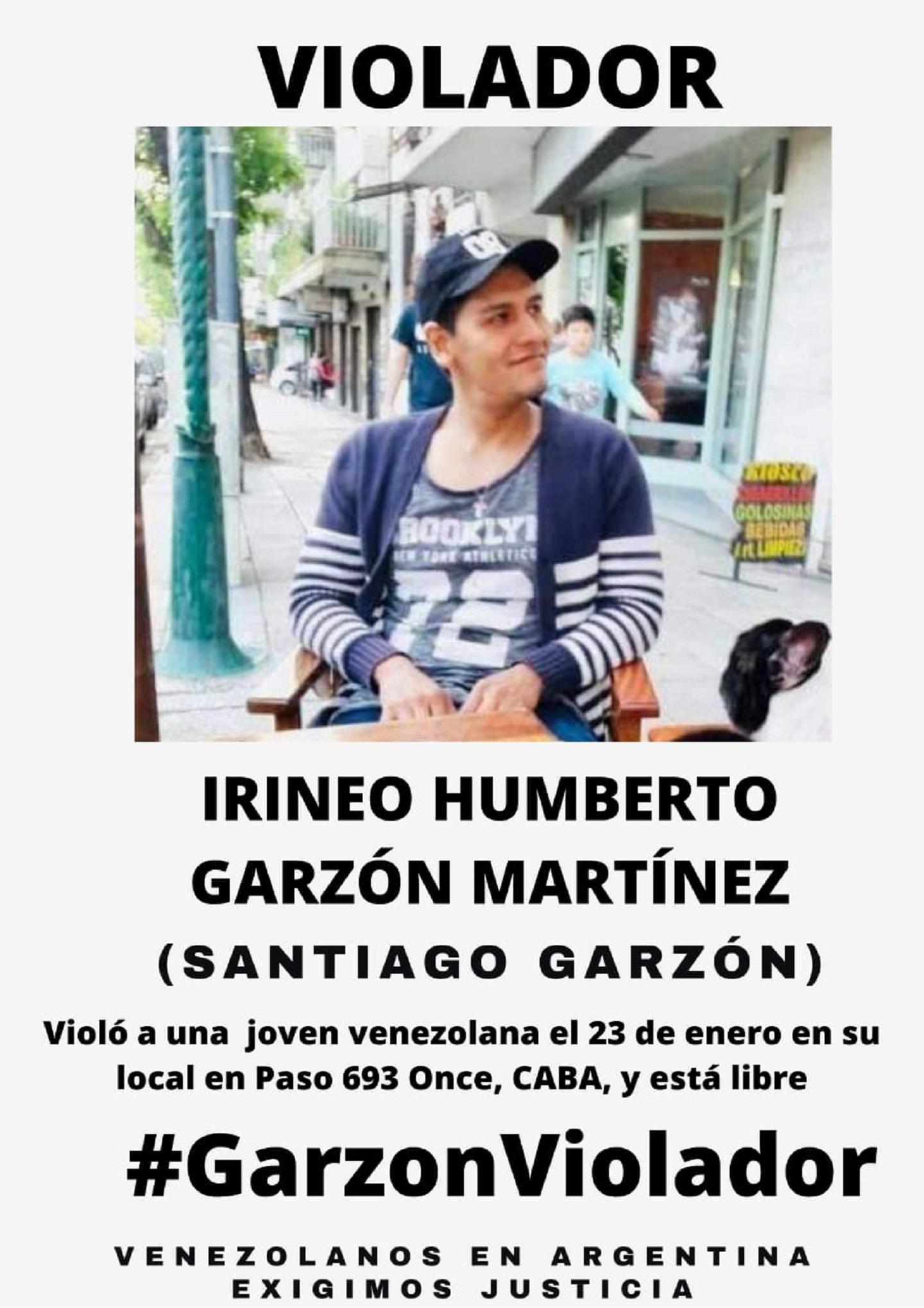 Venezolanos y argentinos piden justicia