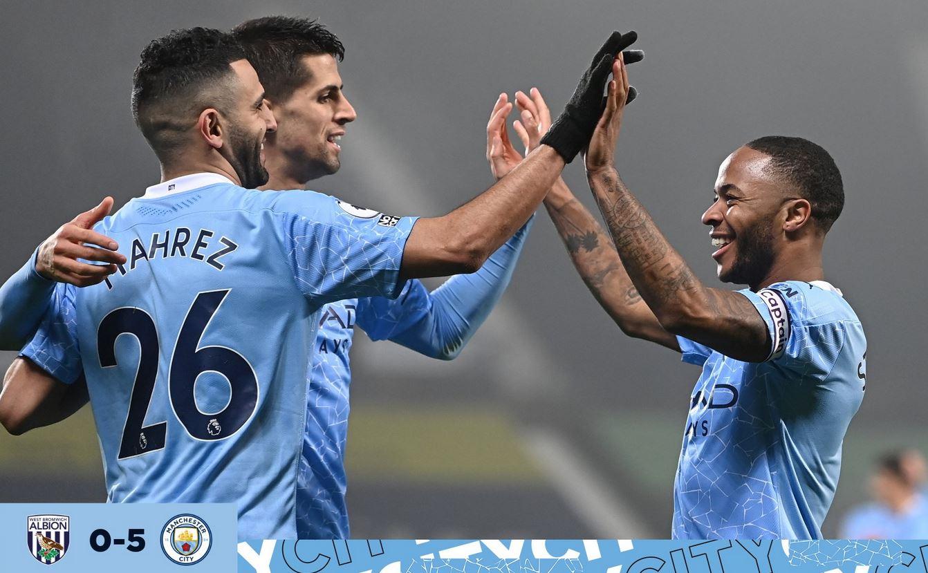 Premier League: Manchester City goleó al West Bromwich | RCN Radio